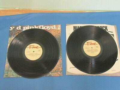 "Pink Floyd  ""A Saucerful Of Secrets"" & ""The Piper At The Gates Of Dawn"" Vinyl LP"