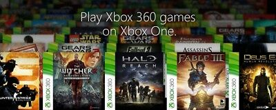 XBOX 360 ORIG video games BACK COMPAT w/Xbox One DUTY BATTLEFIELD FALLOUT CLANCY