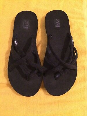 add2a9492 TEVA RED STRAPPY Flip flop Sandals Womens Size 8  SH002 -  8.29 ...