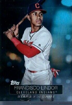 "2019 Topps Series 1 ""Stars of the Game"" Francisco Lindor  #SSB-21"
