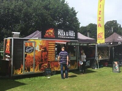 Mobile Pizza Catering Trailer