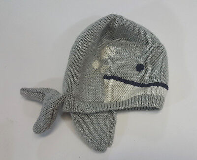 ce8a0c773e7 NEW BABY GAP Boys Size 0-6 Months Whale Sweater Hat Cap 0-3-6 ...