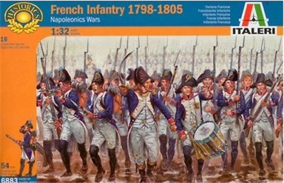 French Infantry 1798-18051/32 Soldiers Figures model Kit ITALERI