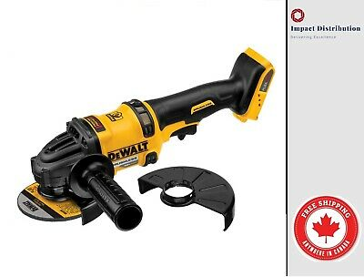 New DeWalt DCD414B 60V Max Bare Tool Flexvolt Grinder with Kickback Brake