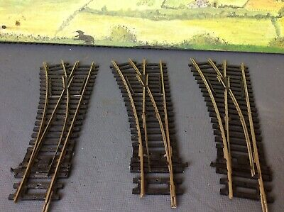 Hornby R8072 00 Gauge Left Hand Point Track  X 3 Points & 3 Hornby Point Motors