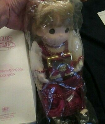 "new Precious Moments 15"" doll,"" Leah"", Gemstone Exclusive"