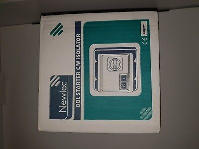 Newlec Dol Starter C/w Switch