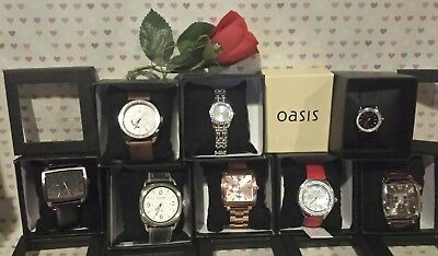 JOB LOT of Watches Mens Ladies FIRE TRAP, OASIS, NEXT, ASOS BUNDLE OF GIFTS J86