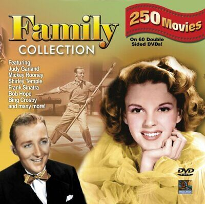 Family Collection - 250 movies on 60 DVDs - Box Set - Brand New