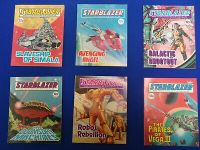 6 Star Blazer – Space Fiction Adventures in Pictures Comics– 12p- Cover Price