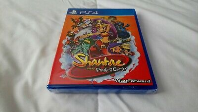 SHANTAE AND THE PIRATE'S CURSE PS4 LIMITED RUN GAMES 25 Brand New Bikini Variant