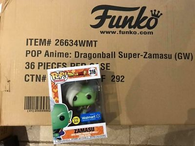 **IN HAND** Walmart EXCLUSIVE Funko Pop! Dragon Ball Super GITD Glow Zamasu 316