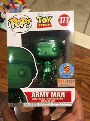 **IN HAND** Toyland Boxlunch EXCLUSIVE Funko Pop! Toy Story Metallic Army Man