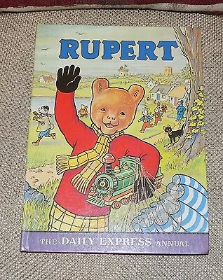 A Original Rare RUPERT Daily Express Annual 1976 1st Edition Price Unclipped 90p