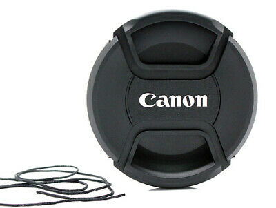 LC-67 Centre Pinch Front Lens Cap for canon  67mm filter thread Snap-on UK STOCK