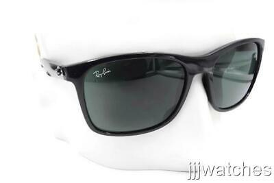 92a0ec4aee New Ray Ban Classic Square Men Green Lens Black Sunglasses RB4232 601 71 57-