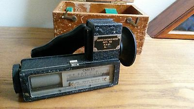 WWII Marine Distance Meter PATT. 703 HH&S No. 1321 made in England