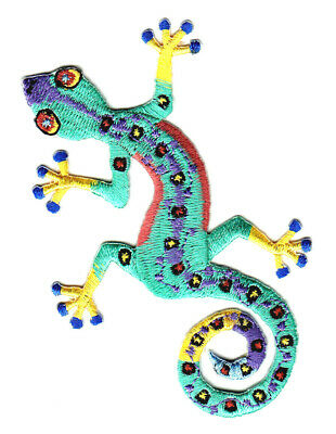 GECKO LIZARD SOUTHWEST Large Iron On Patch