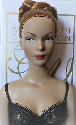 "Tyler Wentworth Tonner READY TO WEAR GLAMOUR 16"" Fashion Doll RED Ginger Hair"