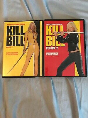 Kill Bill Vol. 1 & 2 Dvd's