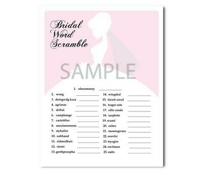 photo relating to Bridal Shower Printable Games identify 4 Gentle Crimson Bridal Shower Celebration Printable Game titles, purse video game, phrase scramble