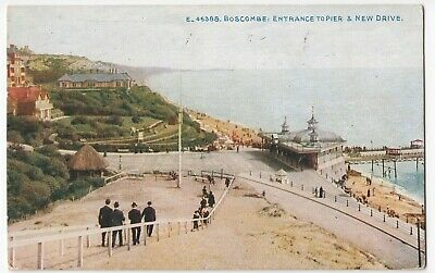 Dorset; Boscombe, Entrance To Pier & New Drive 46388 PPC By Photochrom, c 1910's