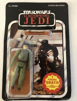 Star Wars Rebel Commando Pbp Red Offer Cardback And The Original Bubble