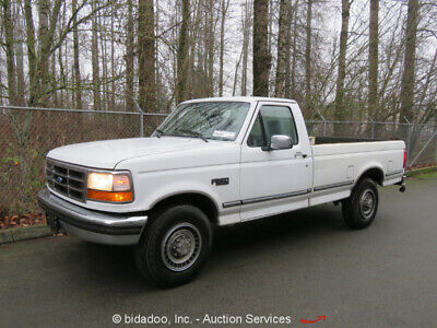 1994 Ford F250  Ford F-250XLT Regular Cab Pickup Truck 5.8L V8 Automatic A/C Cruise Power