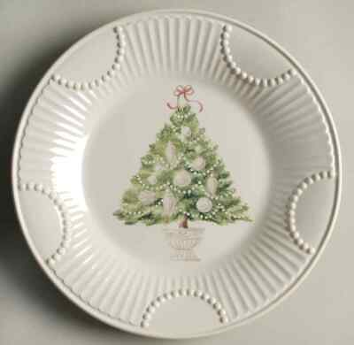 Lenox BUTLER'S PANTRY Christmas Tree Accent Luncheon Plate 7827163