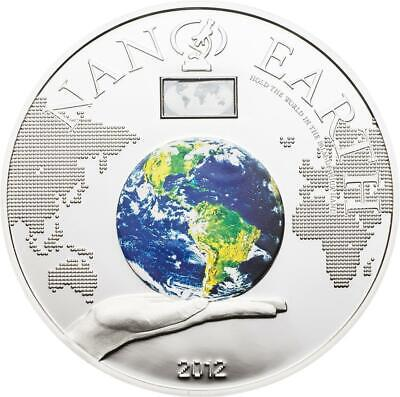 2012 Cook Islands Nano Earth The World On Your Hand Only 1000 Pcs Goods Of Every Description Are Available Gedenkmünzen