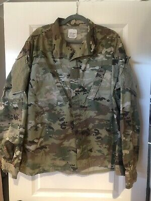 Army Combat Ocp Uniform Top, Perimeter Insect Guard X-Large Regular