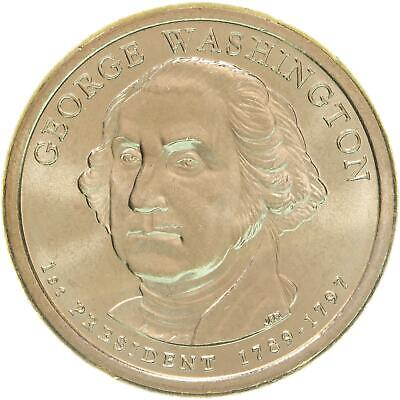 2007 D Presidential Dollar George Washington Choice BU Clad US Coin