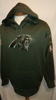 Carolina Panthers(XXL) Salute to Service Nike Therma Fit Hoodie Sweatshirt 5687915a1