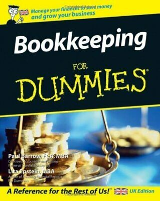 Bookkeeping For Dummies (UK Edition)