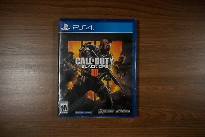 New Call of Duty: Black Ops IV (Sony PlayStation 4, 2018) Brand New Sealed