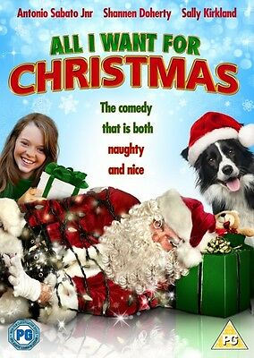 All I Want For Christmas  (DVD) (NEW AND SEALED) (REGION 2) (FREE POST)