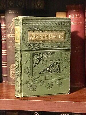 c1880 Thousand & One Nights Arabian Nights Entertainment Victorian Illustrated
