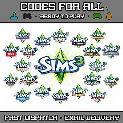 The Sims 3 Base Game + Expansions And Stuff Packs - Pc And Mac Origin Keys