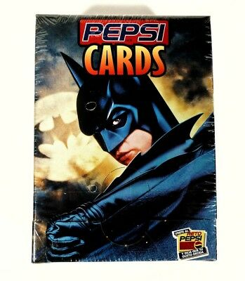 DC Pepsi Cards Batman Forever -Sealed Box-Rare! 1995 Mexican Edition en Espanol!