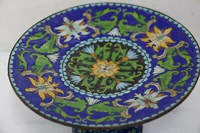 Very Beautiful Old Cloisonne Stand - Amazing Design - Very Rare - L@@k