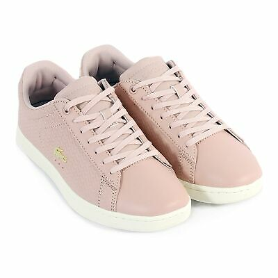 f5b065a556410 LACOSTE WOMEN S CARNABY Evo 119 3 Leather Lace Up Nat   Off White ...