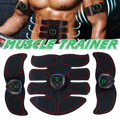 Smart Stimulator Training Fitness Gear Muscle Abdominal Toning Belt Trainer ABS