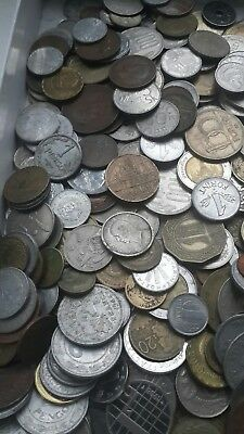 100 different unsearched world coins free shipping worldwide