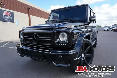 2011 Mercedes-Benz G55 G55 AMG G Class 55 G Wagon Supercharged G63 Front 2011 G55 AMG G Wagon like 2006 2007 2008 2009 2010 2012 2013 2014 2015 G63 G550