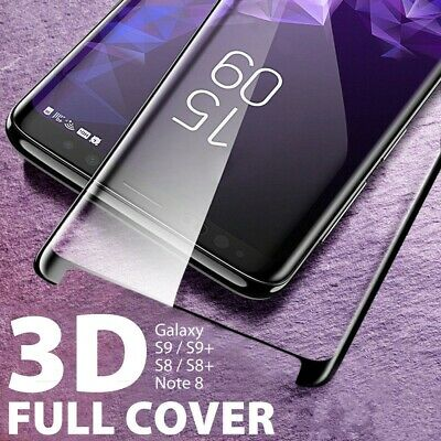 For Samsung Galaxy S9 S8 S7 Plus Note 9 8  Tempered Glass Full Screen Protector