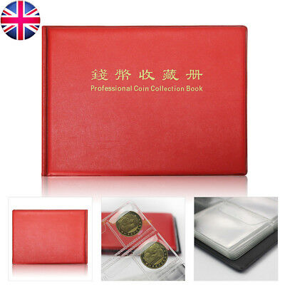 240 Album Coin Penny Money Storage Book Case Folder Holder Collection Collect