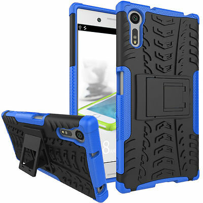 Hybrid Armor Stand Shockproof Cover Case For Sony Xperia X Compact X Performance