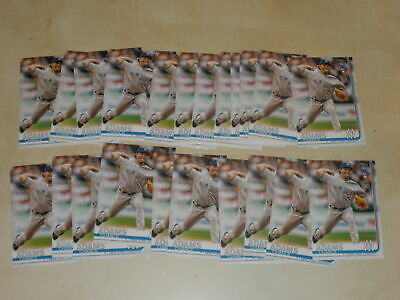 Lot Of (23) Chance Adams 2019 Topps Series 1 Rookie Rc #98 New York Yankees