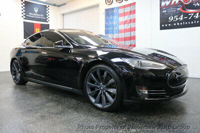 2013 Tesla Model S 4dr Sedan Performance CARFAX CERTIFIED . FULLY LOADED. MINT CONDITION. VIEW IMAGES. CALL 954-744-1177