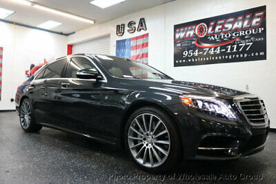 2015 Mercedes-Benz S-Class 4dr Sedan S 550 RWD CARFAX CERTIFIED . FULLY LOADED. MINT CONDITION. VIEW IMAGES. CALL 954-744-1177